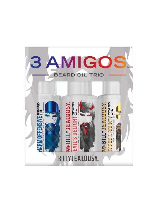 Billy Jealousy 3 Amigos Beard Oil Kit